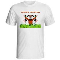Duck Hunt T Shirt Nostalgic FC Console Game Style Novelty Hip Hop T Shirt Skate Design