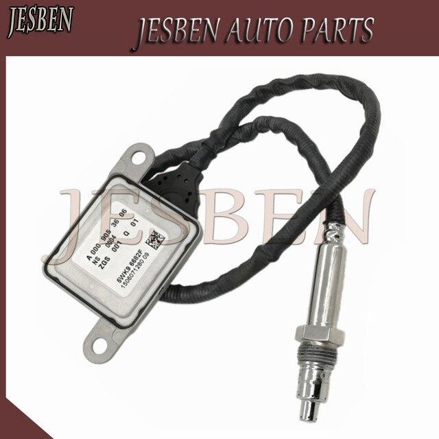 Neue Nox Sensor A0009053606 0009053606 fit für Mercedes Benz C180 BlueTEC W205 W166 W164 X164 W221 GLE 2,2 T GLS 3,0 T ML 5WK96682F
