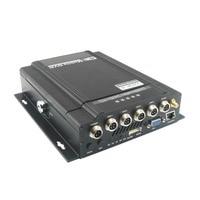 Digital CCTV Recorder HD Gps 3g Wifi Dvr 4ch Free Cms Vehicle Gsm Network Mdvr Intelligent