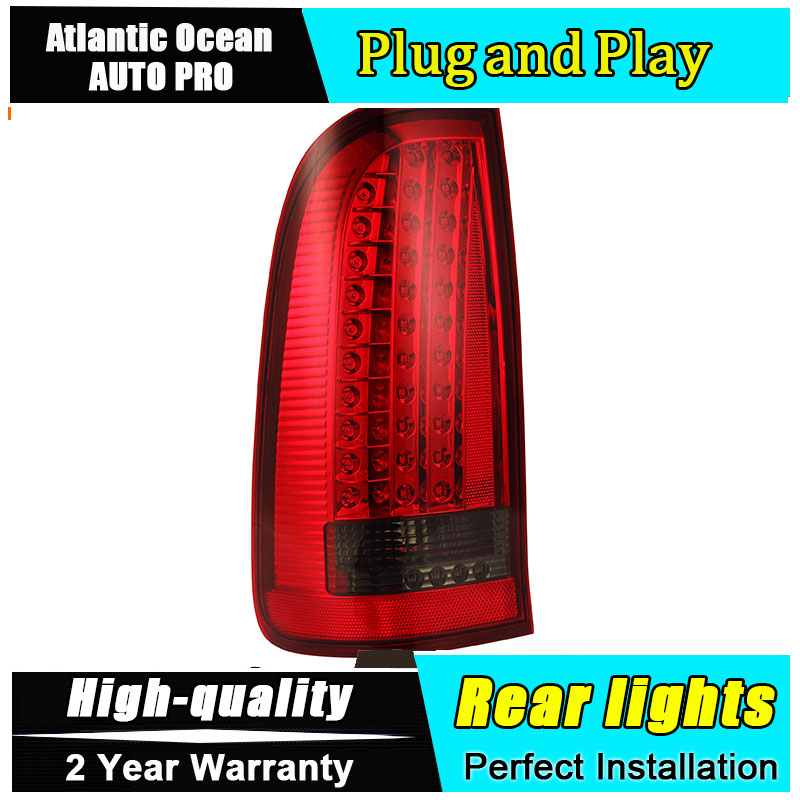 JGRT Car Styling for toyota VIGO Taillights 2012 VIGO LED Tail Lamp VIGO Rear Lamp LED Fog Light For 1Pair ,4PCS car styling tail lights for toyota highlander 2015 led tail lamp rear trunk lamp cover drl signal brake reverse