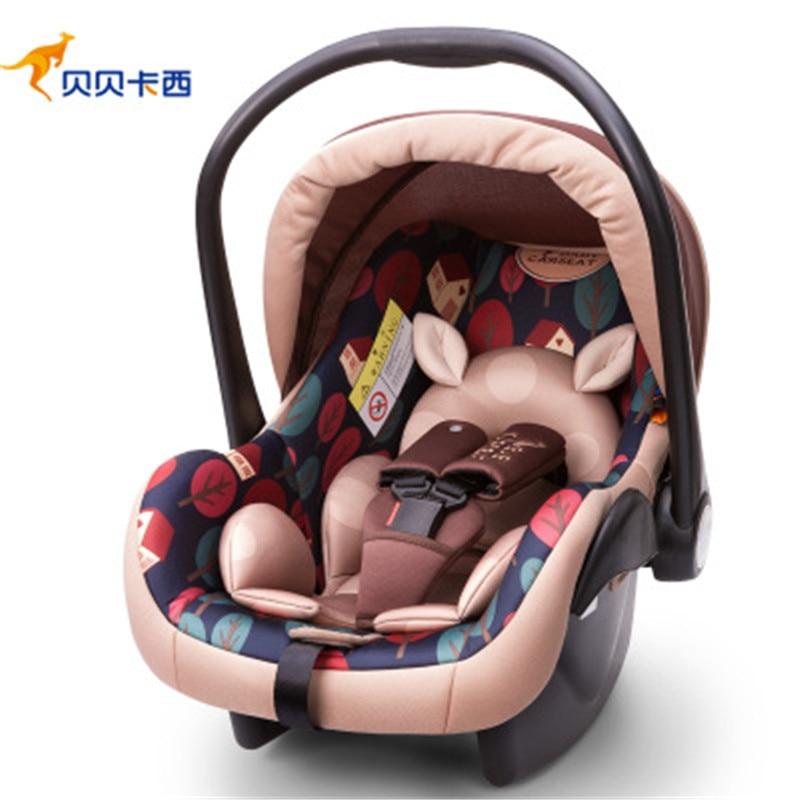 0-13month Baby Auto Korb Tragbare Sicherheit Auto Sitz Auto Stuhl Sitz Neugeborenen Säuglings Schützen Sitz Stuhl