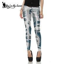 Fashion Leggings Women 3d Print Cosplay – 8 Styles