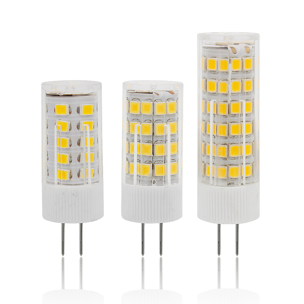 220V 230V Min G4 LED Corn Light Bulb 3w 4w 5W Replace 20w 30w 40w Halogen Lamp For Candle Chandelier Celling