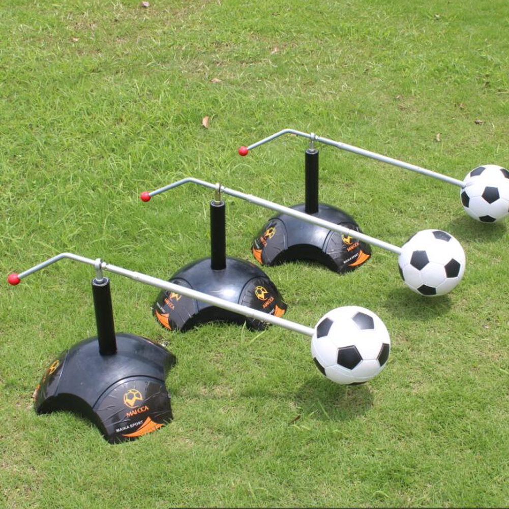 Top Quality Football Trainer Equipment Kick Ball Soccer Ground Pass Cross Pass Excessive Dribbling Training Equip Free Shipping