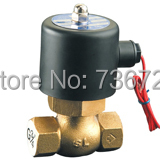 1 inch solenoid valve / 2 way steam brass water valve /AC220V,AC24V, DC24V, DC12V