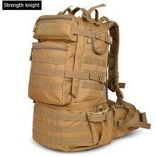 Military Armee Taktik Rucksack 50L Campe Rucksäcke Große kapazität Männer Reisetaschen Camouflage Pack Schul