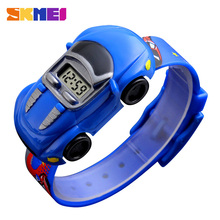 SKMEI Hot Kids Watch For Children Car Cartoon Style Sports W