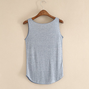 Image 5 - HOT summer Fitness Tank Top New T Shirt Plus Size Loose Model Women T shirt Cotton O neck Slim Tops Fashion Woman Clothes