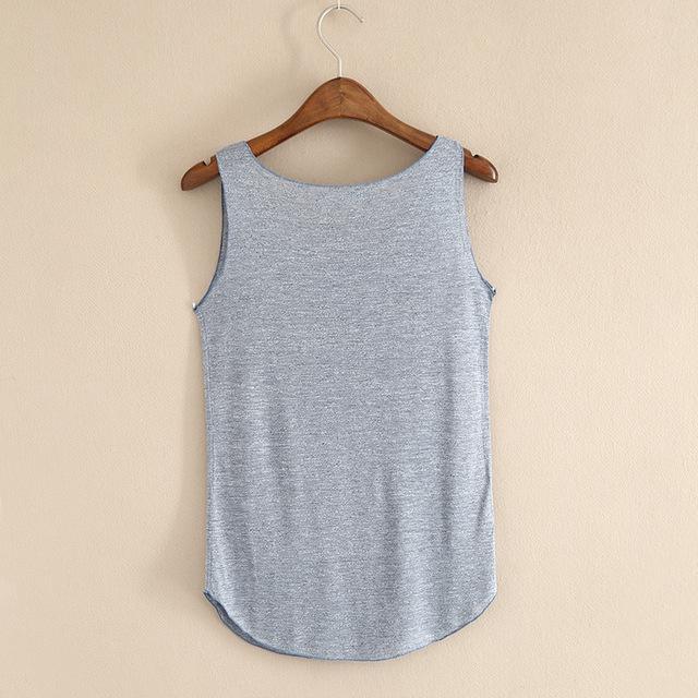 T-shirt Cotton O-neck Slim Tops