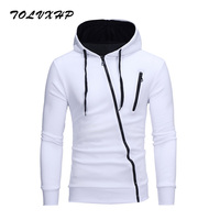 New 3D Hoodies Men 2018 Brand Male Hoodie Sweatershirt Side Oblique Pull Sweatshirt Men Moletom Masculino