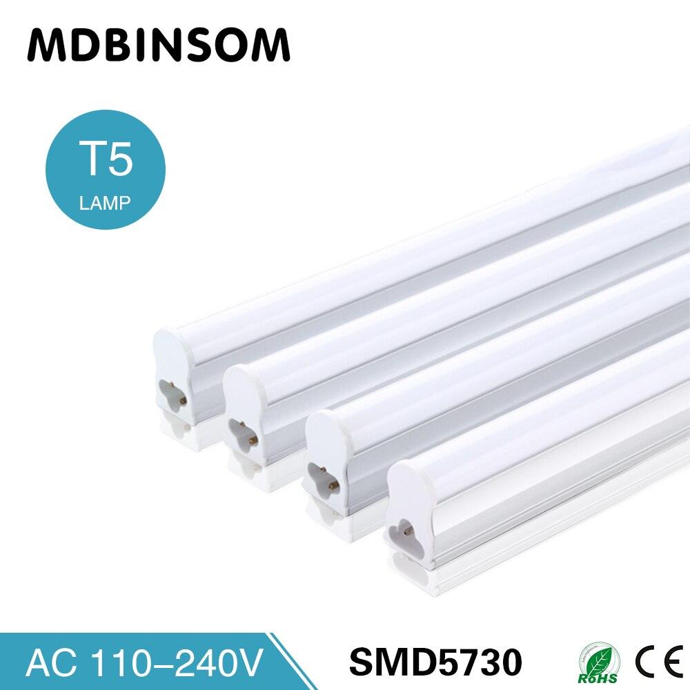 Moderne PVC Plastic 9W Integrated LED Tube T5 2ft Bulb 220V 60cm Cabinet OY-41