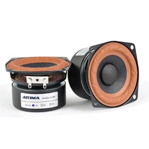 Image 2 - AIYIMA 2Pcs 2.5inch 15W Audio Portable Speakers 4Ohm 8Ohm  Full Range Hifi Bass Mini Speaker DIY For Home Theater
