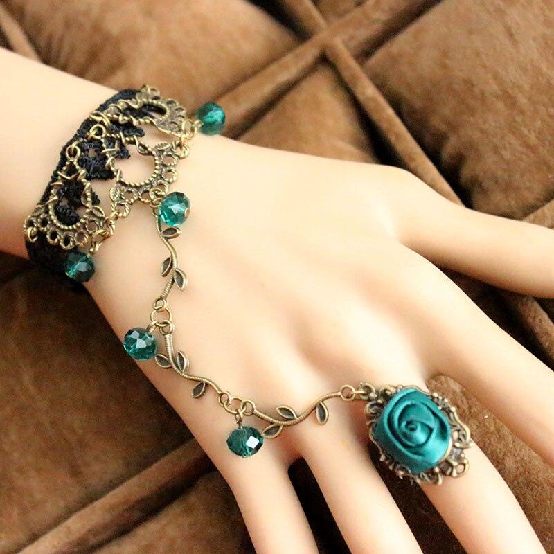 Slave Chain Link Ring For Women Bracelet