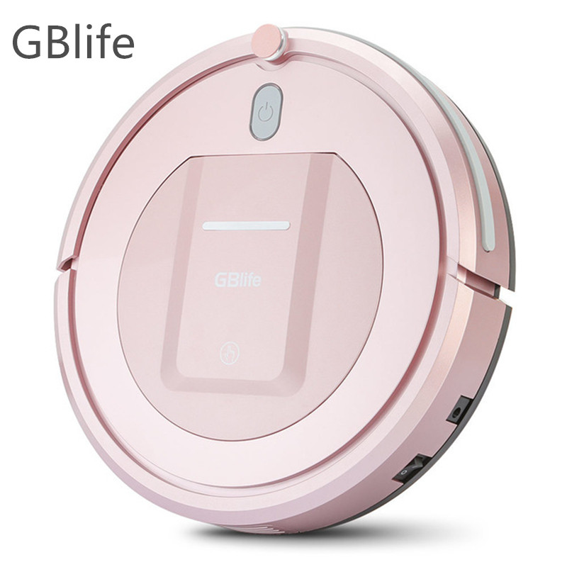 GBlife KK290 Smart Robot Vacuum Cleaner 500Pa Aspiradora Robot Remote Control Remote Scheduling Multifunctional Clean Appliance chunghop rm l7 multifunctional learning remote control silver