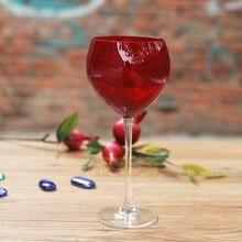Соединенные Штаты свинца стекло Ruby Red бокал вина бокал шампанского