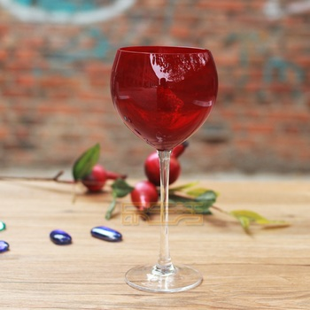 The United States lead-free glass ruby red wine glass Wine champagne goblet