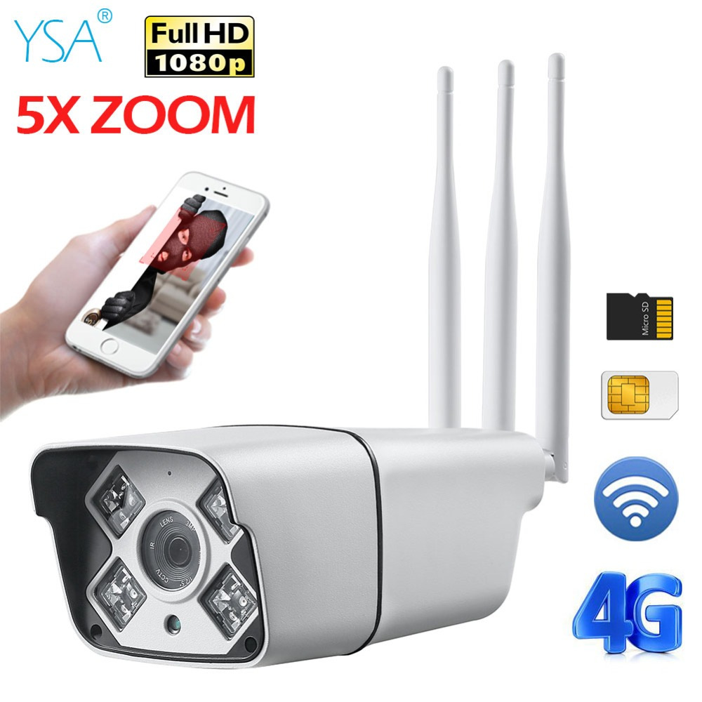 HD 1080P 960P 3G 4G SIM Card Camera Wifi Outdoor HD Bullet Camera Wireless IR 5X Zoom Auto Focus 3516C+SONY323 CCTV IP Camera free 32gb sd card ptz cam 1080p 960p 3g 4g sim card camera wifi outdoor hd bullet camera wireless 5x zoom auto focus ip camera