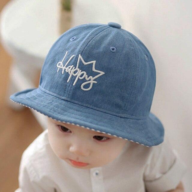 abd3d8cabb15 Fashion Fisherman Type Baby Cap Soft Boys Girls Sun Hat Cartoon ...