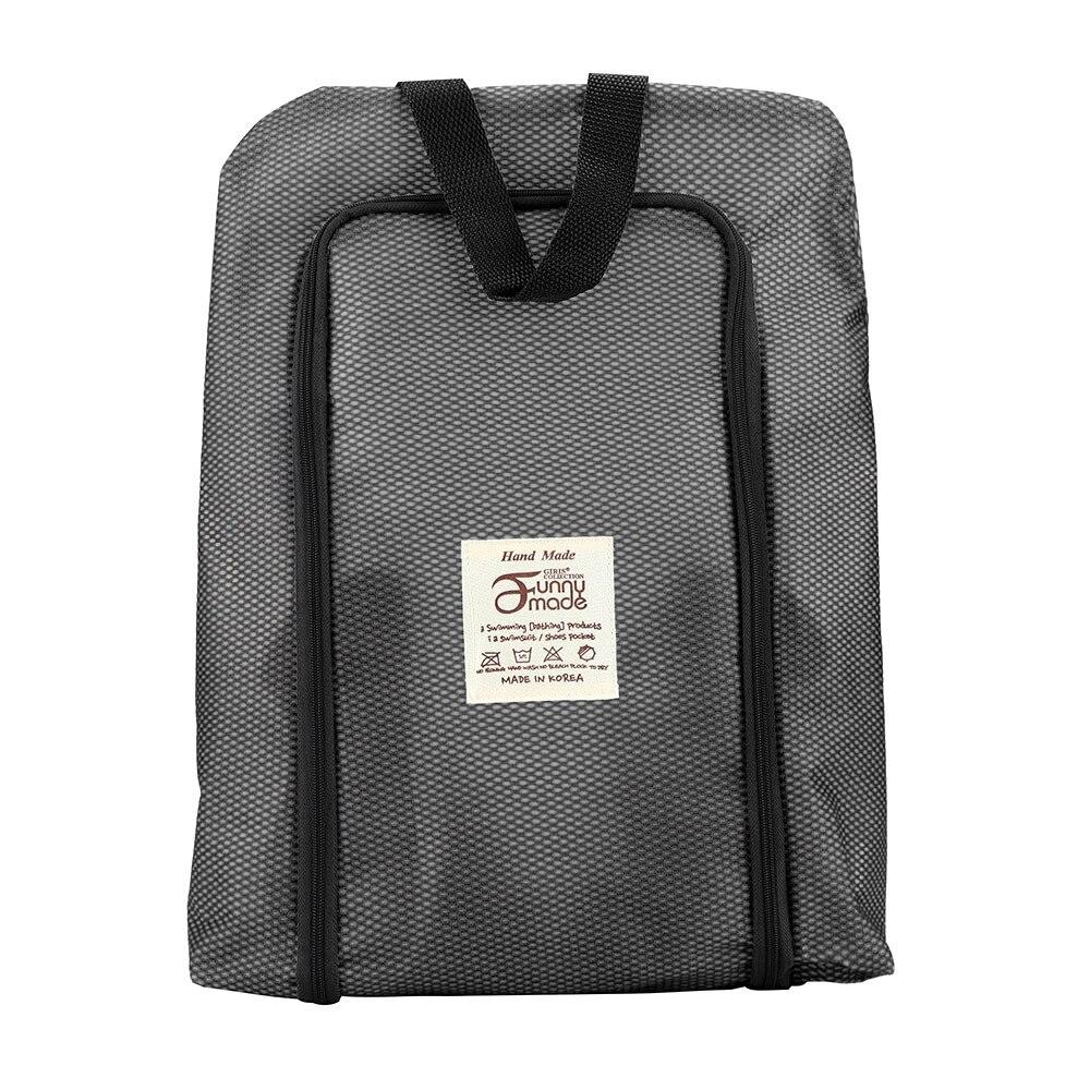 New Qualified Portable Travel shoe bag Zip view window Pouch Storage waterproof Organizer women fashion bags Drop Ship D40Au2 Shoe Bags