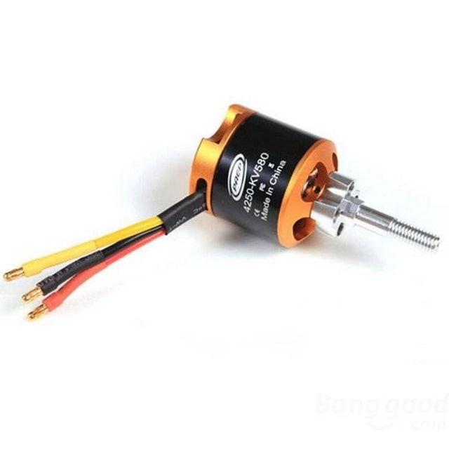 FMS 4250 KV580 Brushless Motor For FMS T28 Zero BF109 1400mm RC Airplane 1pcs