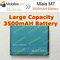 Mlais M7 Batería 100% de Alta Calidad Original 3500 mAh Li-ion Batería de Repuesto para Mlais M7 Plus Smartphone Envío Gratis