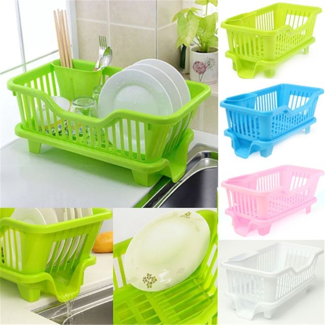 kitchen sink dish cup utensil drainer dishes drying rack holder basket organizer tray useful kitchen tools. beautiful ideas. Home Design Ideas