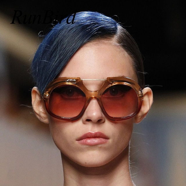 0e57c7828b4f 2018 New Italy Brand Designer Round Sunglasses Women Men Retro Famous  Oversize Yellow Sun Glasses Eyeglasses