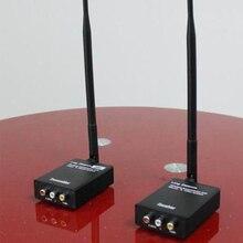 2,4 ГГц HIFI Цифровой беспроводной аудио видео адаптер приемник Музыка Беспроводной Wi Fi передатчик приемник 12 В постоянного тока с 3,5 мм аудиокабелем