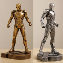 Iron Man 1/6 1:6 MARK VII MK43 31CM The Avengers Tony Stark Resin Statue