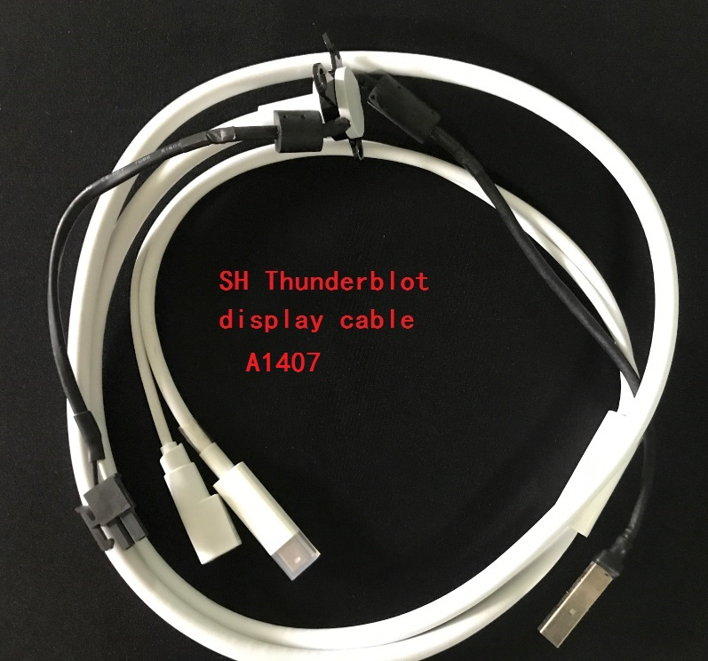 5PCS/LOT  Thunderbolt Displayport cable for Apple 27 LED Display A1407 MC914