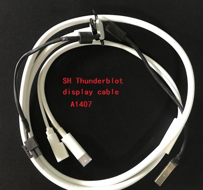 5PCS/LOT  Thunderbolt Displayport cable for Apple 27 LED Display A1407 MC914 аксессуар apple thunderbolt cable 2 0m mc913