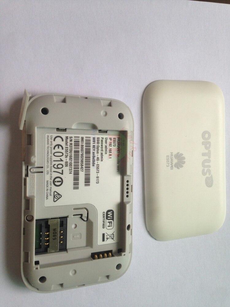 Débloqué huawei E5573 4g wifi modem E5573s-606 3g 4g routeur 150 m 3g 4g wifi routeur avec emplacement pour carte sim hotspot portable E5573s - 4
