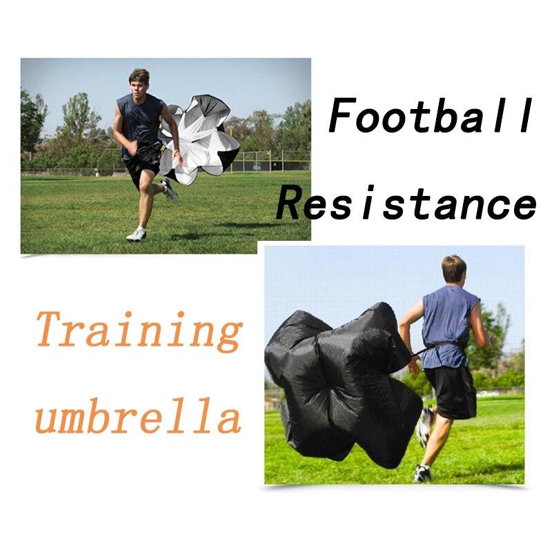 Football Training Resistance Umbrella Adjustable Sports Soccer Running Umbrella Track and Field Explosive Training Equipment