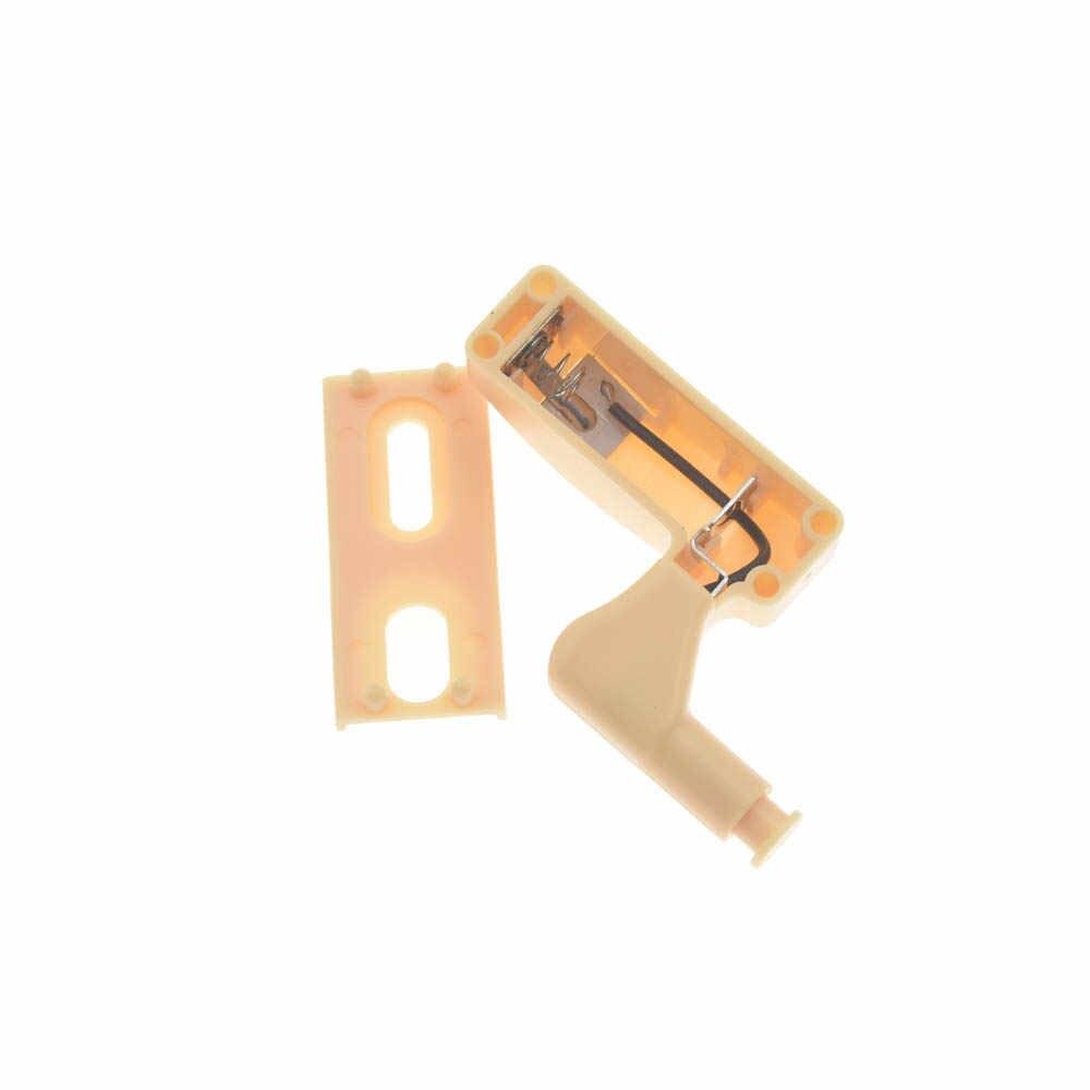 1 шт. Прочный шарнир светодиодный датчик света кухня спальня гостиная под для шкафа, комода Шкаф 0,25 Вт Внутреннее освещение