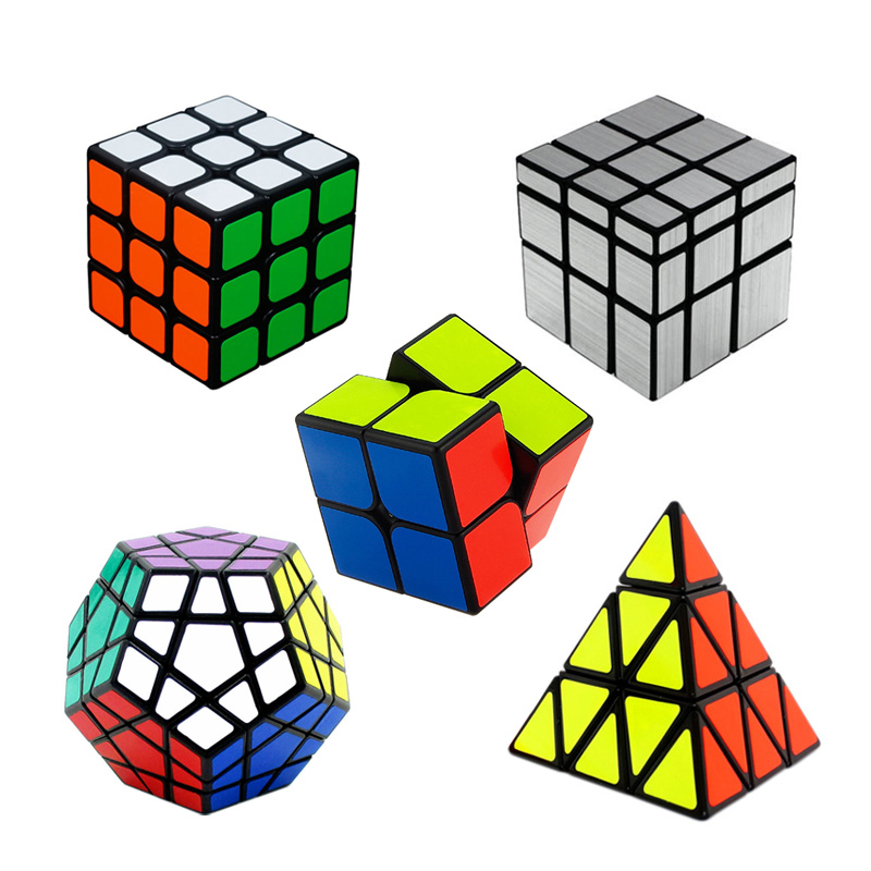 3D IQ Magic Cube Puzzle Logic Mind Brain teaser Opplæringspuslespill Leker for barn Voksne