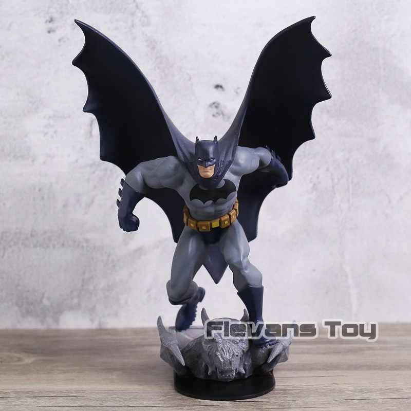 DC Comics Batman The Dark Knight Rises PVC Figura Collectible Estátua BATMAN Modelo de Brinquedo