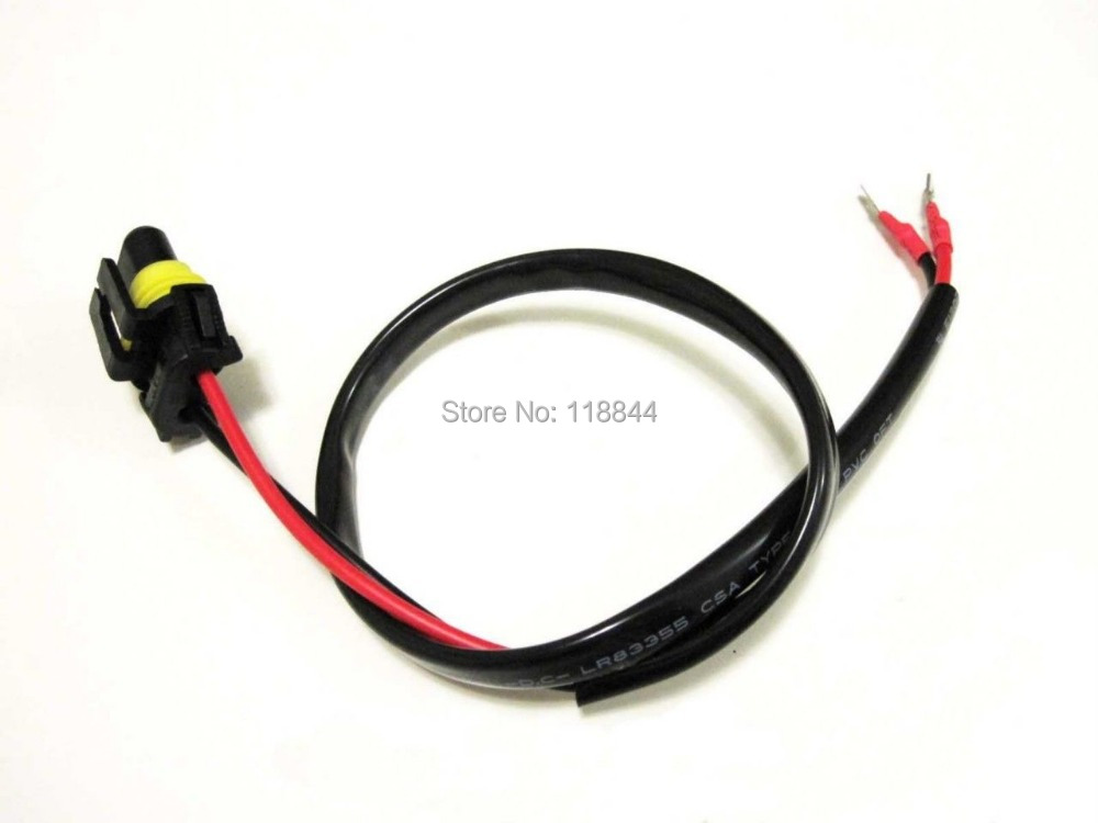 웃 유 pcs w w xenon h h h wire harness for hid ballast to