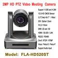 2,0 мегапикселя 20x зум PTZ видео конференц-камера HD-SDI IP HDMI аудио вход для теле-образования церкви Телемедицина