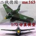 1: 72 SEGUNDA GUERRA MUNDIAL Alemão ME163 brinquedo modelo lutador modelo de avião a jato modelo 36344 Trompetista