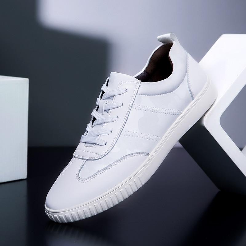 De Mocassins Vulcanisé Mode Hommes Backcamel 2018 Couche Respirant Black Cuir white Première Nouveaux Sport Britannique Chaussures Léger qSRtwPUtB