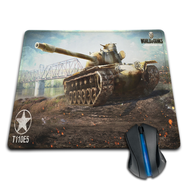 Babaite world of tanks T110E5 Personalized Cool Fashion Pad Mouse Mat 180x220x2mm 250x290x2mm