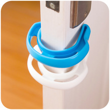 2pcs U Baby Safety Gate Card  Infant Door Stop  Security Safe Doorways Exit door card Plastic Security Door Stopper Clip