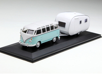 Special Offer 1:43 T station wagon 1 Model of van + Trailer Alloy Collection Model