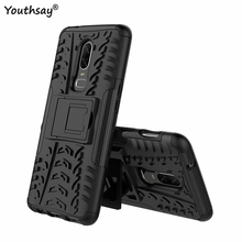 Coque Oneplus 6 Case Shockproof Armor Silicone Rubber Hard Back Phone For Cover Oneplus6 Fundas Shell