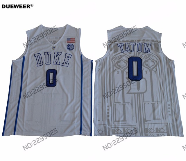50% off blue devils 0 jayson tatum blue basketball stitched ncaa jersey  973ac 92a7f a02cf5eed