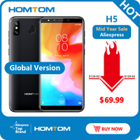 Оригинальная глобальная версия Mobile H5 3 ГБ ОЗУ 32 Гб ПЗУ четырехъядерный мобильный телефон 5,7 дюймов gps отпечаток пальца Лицо ID 4G Smartphone смартфо...