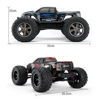 35+MPH 1/12 Scale RC Car 2.4Ghz 2WD High Speed Remote Controlled TRACK Red Z905
