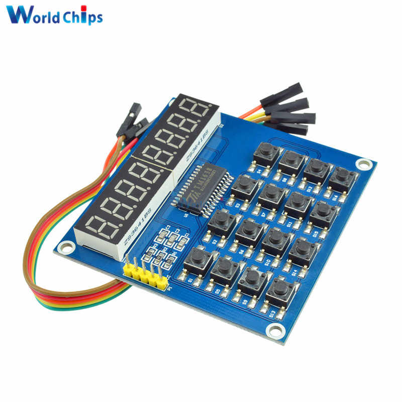 Detail Feedback Questions about TM1638 LED Display 8 Bit Digital