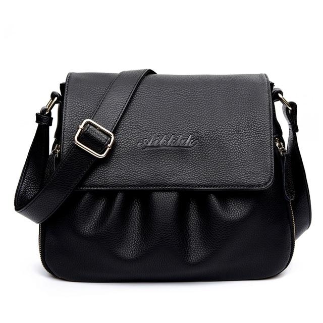 74beb6a169b2 Женская стильная модная женская сумка из натуральной кожи, винтажная женская  сумка на плечо, женская