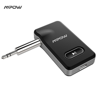 MPOW 2017 New 2 In 1 Bluetooth 4 1 Receiver Car Locator Hands Free Car Kits